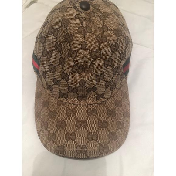 5a693d8ff19797 Gucci Accessories | Original Gg Baseball Cap | Poshmark